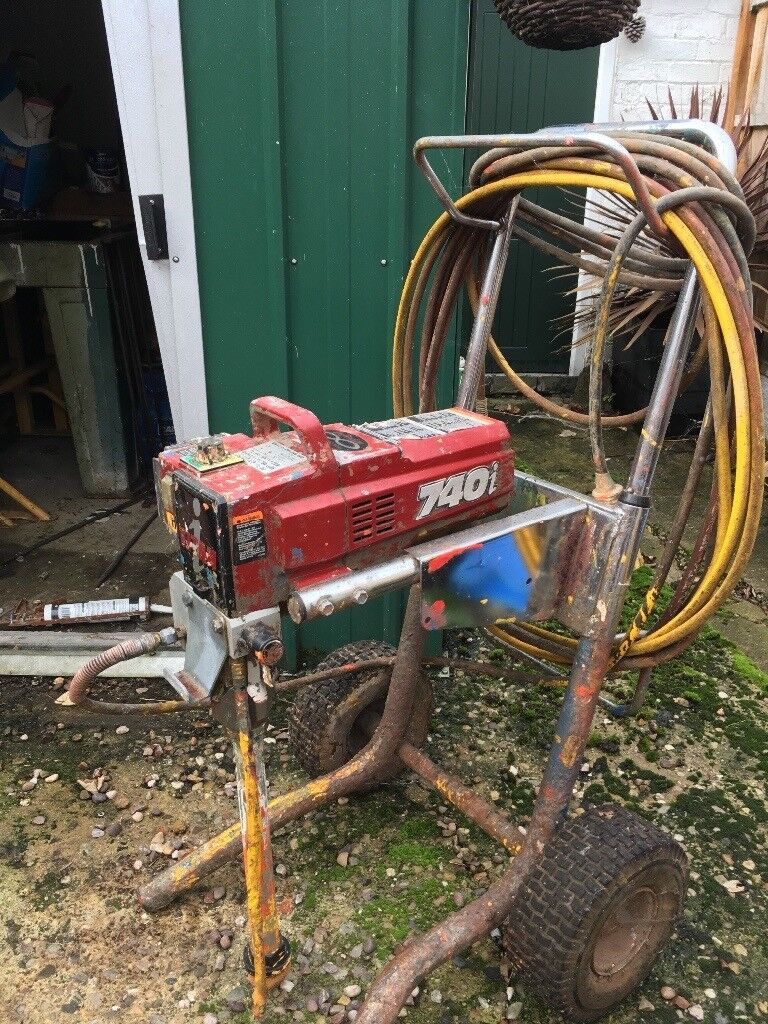 Dewalt Dust Extractor >> Titan 740i airless paint sprayer ,20meter hose and gun on wheels good condition. | in Derby ...