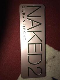 Urban decay naked 2 pallet (100% genuine ) with swatches