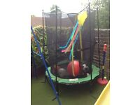 4 ft trampoline