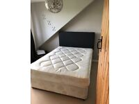 Double bed for SALE includes mattress & headboard collection only