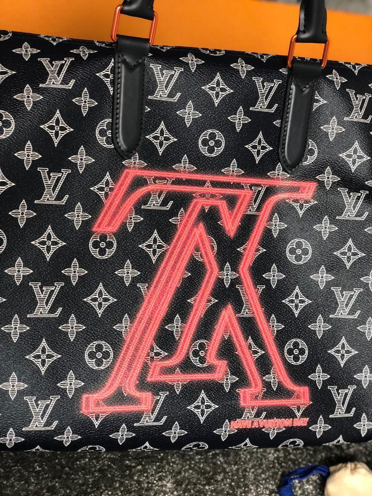 2f161e6727e7 Louis Vuitton Kim Jones upside down bandouliere 50