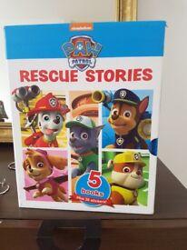 Paw Patrol books x5