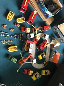 Massive collection of fireman Sam toys
