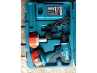 Makita 14.4v Cordless Drill 2x Batteries