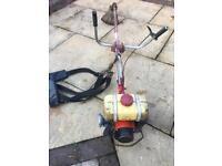 Petrol industrial strimmer brush cutter