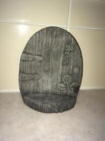 Fairy door cast stone