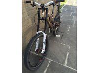 Specialized big hit 3 custom downhill bike Bargain