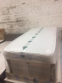 Single 3ft Divan Bed and mattress