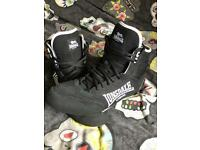 Lonsdale Black Boxing Boots size 12