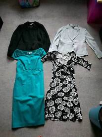 Size 8 L.K Bennett & DKNY dresses and jackets bundle