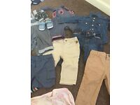 Baby boy clothes size (6-9,9-12)