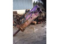 Rock breaker for 30-40 tonne excavator