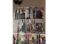 The walking dead comics 97-108, 111-150