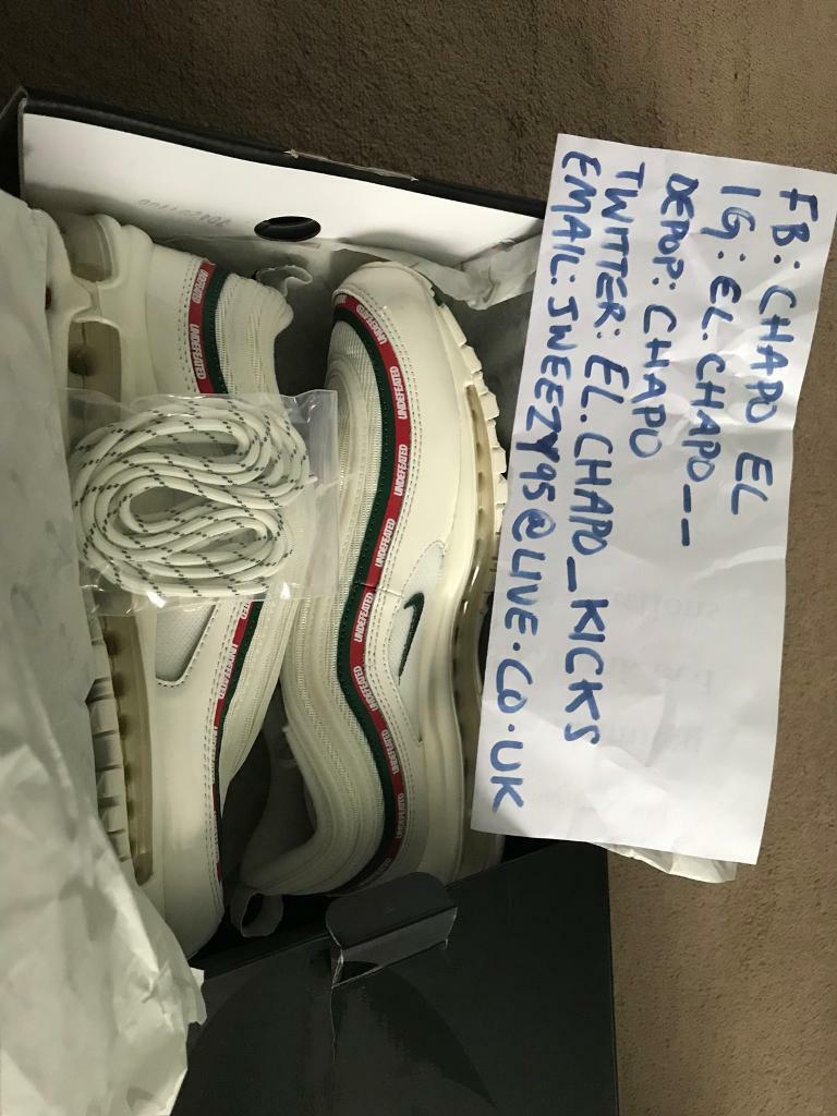 Nike Air Max 97 Undefeated for sale UK size 8