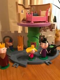 Ben & Holly castle play set