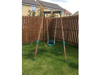 Children's TP wooden Swing