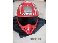 red quad helmet