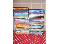 CHILDREN'S DVD'S X53 - INCLUDES DISNEY'S - £25 FOR ALL