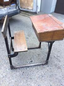 School desk vintage