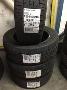 205/55/16 Kelly Charger GT allseasons tires