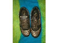 Trainers - leopard