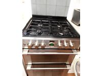 Stoves Sterling 600G Free Standing 60cm 4 Hob Double Gas Cooker - Black.