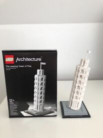 Lego Architecture - The Leaning Tower of Pisa