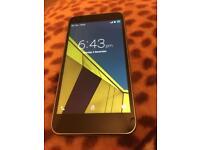 Vodaphone smart Ultra 6,ZTE,4G unlocked & gray colourexcellent condition phone