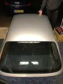 BMW E46 Hard Top Silver Very Good Condition.