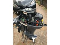 Yamaha 9.9 four stroke 2014 outboard engine