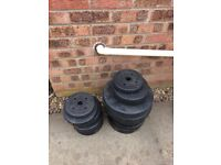 Weights , section of sizes as seen in picture £30