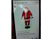 Karaoke santa for sale excellent condition