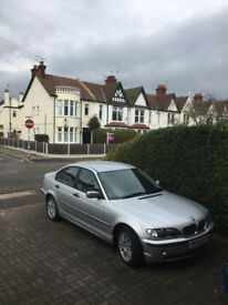 BMW WITH NEW TYRE AND MOT