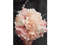 Artificial flower posy