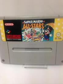 SNES Super Mario AllStars PAL Version