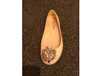 Ted Baker Nude Pink Flat