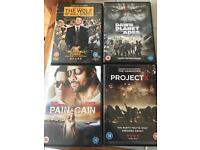 Movie lot x4 - also more available (DVDs)