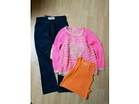 Girls Jumper, top and Jeans - Age 9