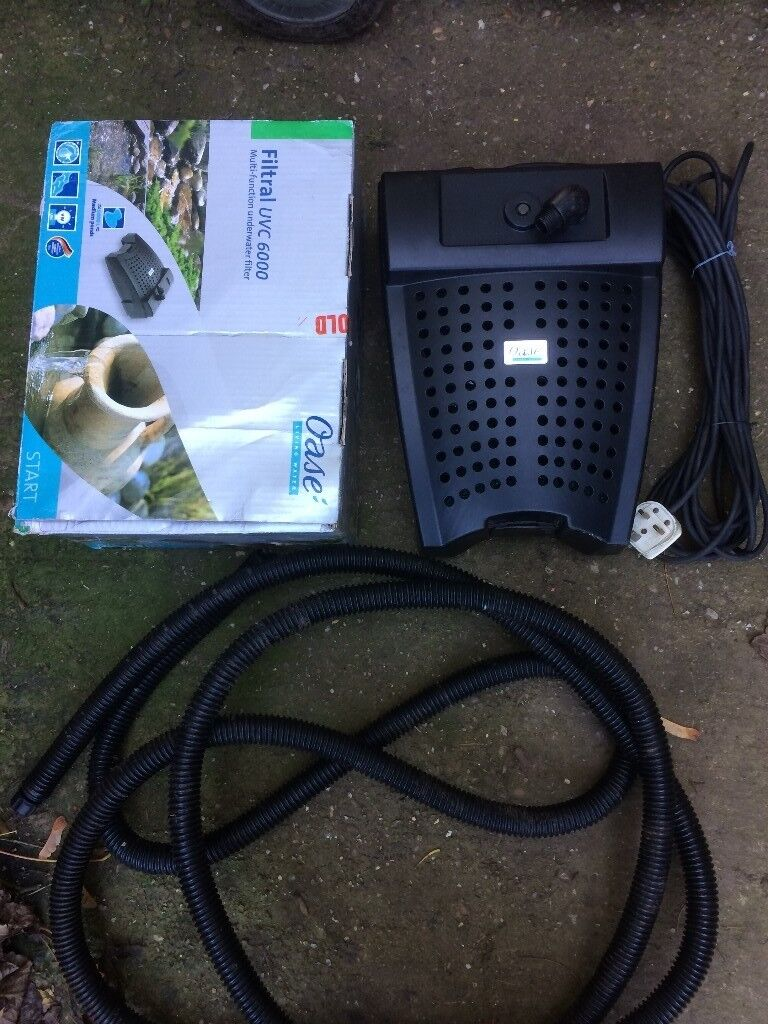 Oase filtral 6000 all in one pond pump filter uvc boxed for Best all in one pond pump and filter