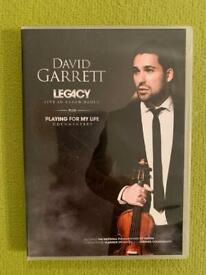David Garrett - live in Baden Baden featuring national philharmonic of russia DVD
