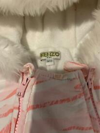 Kenzo Paris baby girl snow suit pram suit 0-6months
