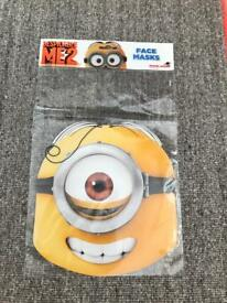 Minion face masks