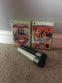 Xbox 360 Lips games
