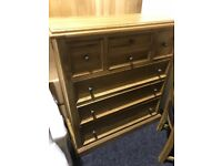 New solid oak large chest-Have one mark only