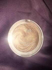 Mua shimmer highlight powder (radiant cashmere)