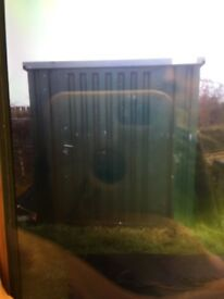 Metal container/shed