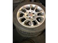 "Jaguar XK 18"" alloy wheels"