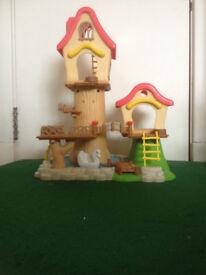 Sylvanian Families Fairground Treehouse