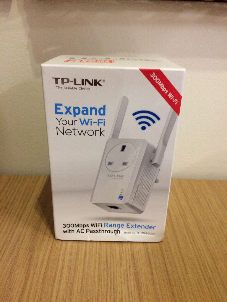 TP-Link TL-WA860RE 300Mbps Wifi Range Extender with AC Passthrough | in  Llanelli, Carmarthenshire | Gumtree