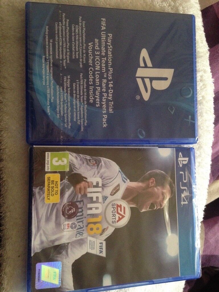 Fifa 2018 and extra ps4